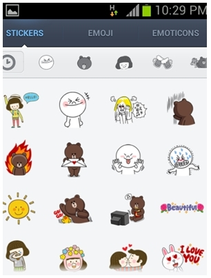 LINE, Free calls and messages, LINE stickers, android app, mobile app, oppa, PSY, gentleman