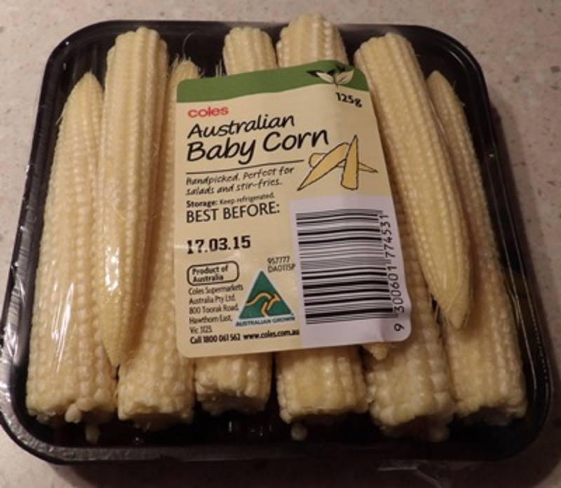 Sweet Baby Corn by Coles