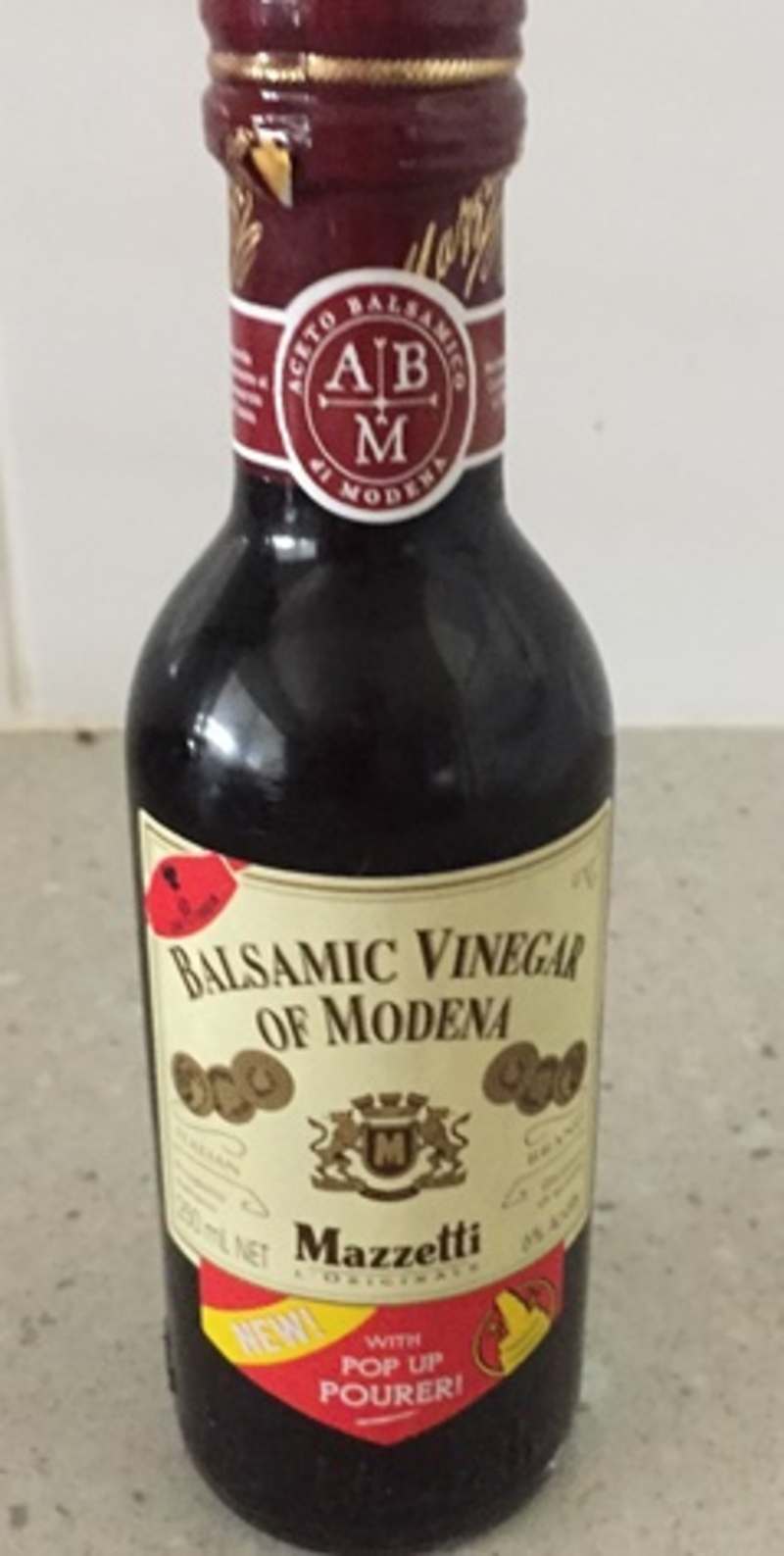 Balsamic Vinegar of Modena by Mazzetti