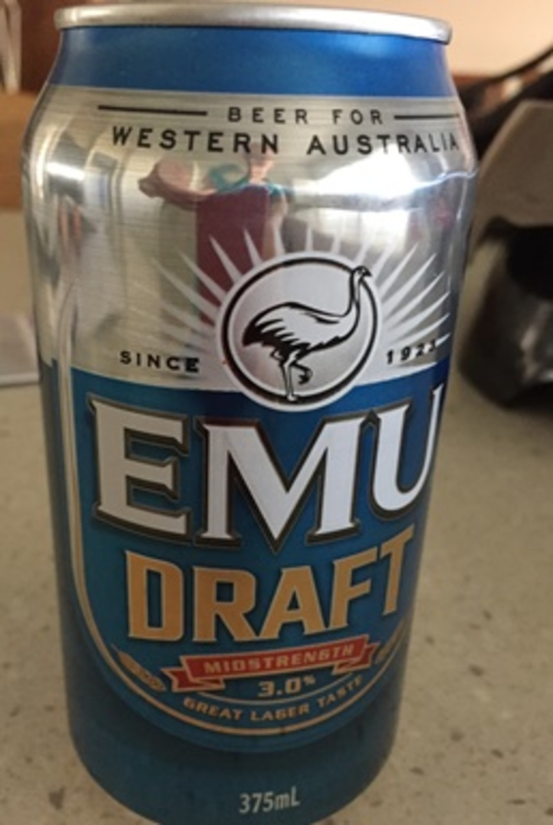 Emu Draft Beer