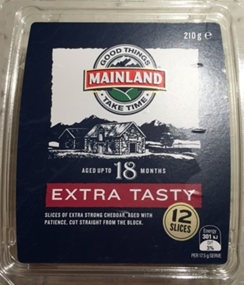 Mainland Extra Tasty Cheese Slices