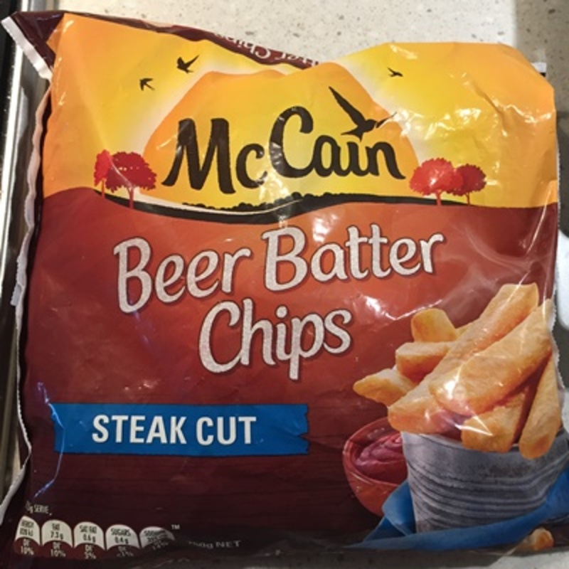 Beer Batter Chips by McCain