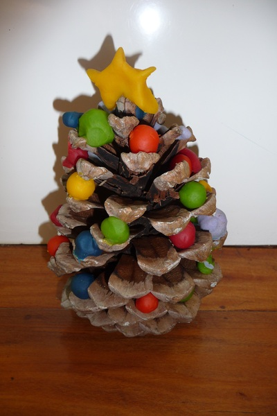 christmas tree, play dough, mica-dough