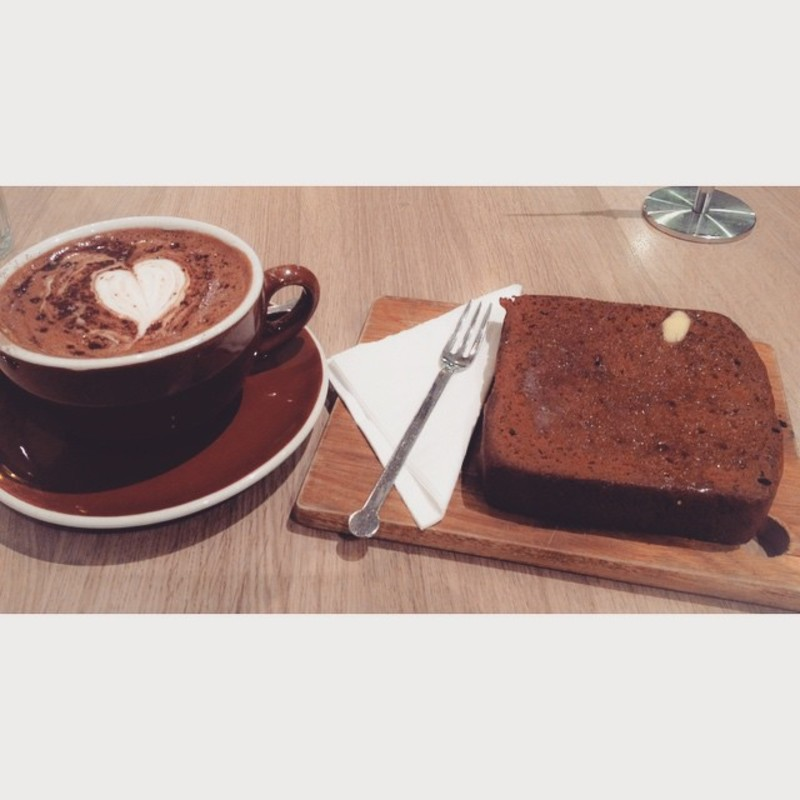 Classic Belgian Hot Chocolate & Banana Bread, Fair ...
