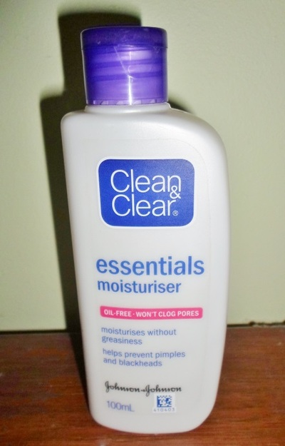 clean & clear, essentials, moisturiser, beauty product, review