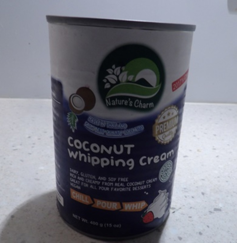 Coconut Whipping Cream by Nature's Charm