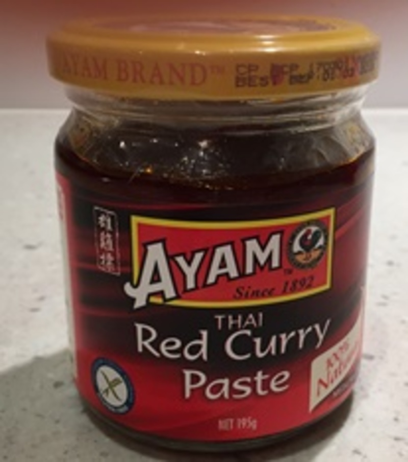 Ayam Thai Red Curry Paste