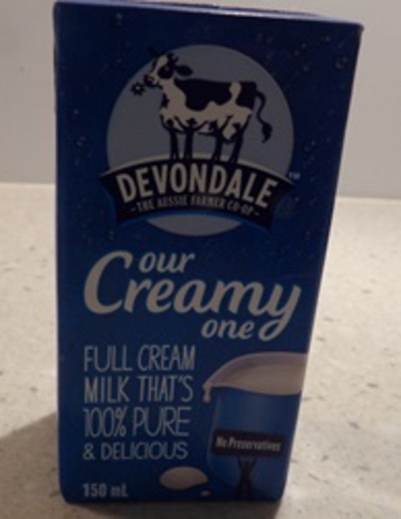Devondale long life milk