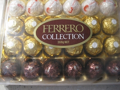 ferrero,chocolate,collection