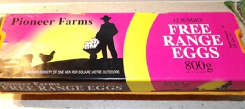 Free Range Eggs by Pioneer Farms