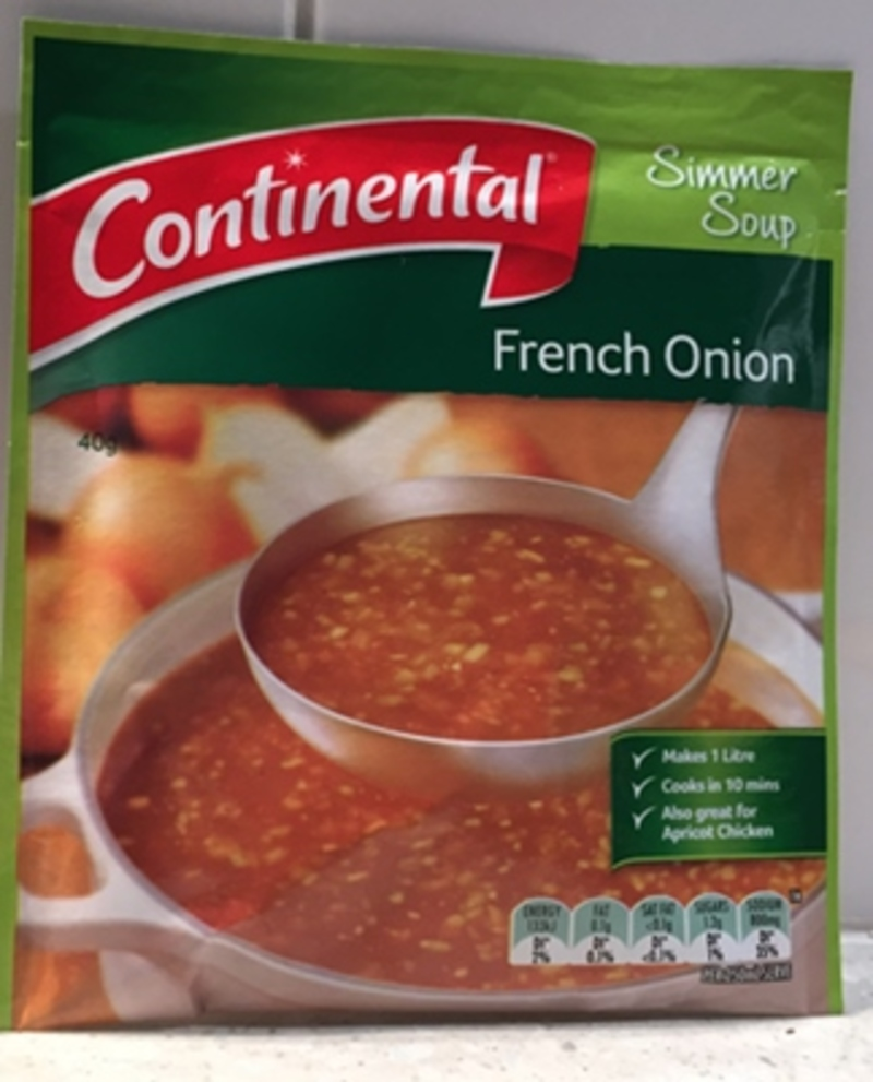 French onion packet