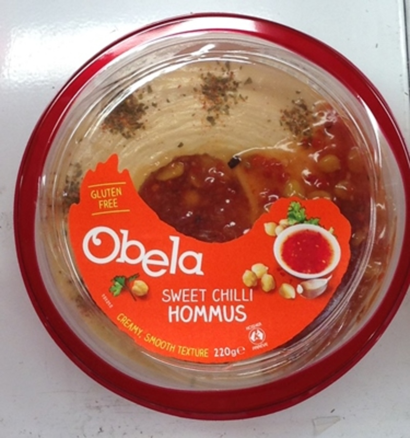 Sweet Chilli Hommus by Obela