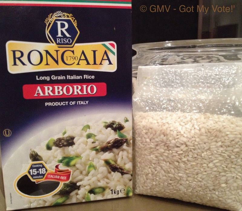 how to cook riso arborio rice