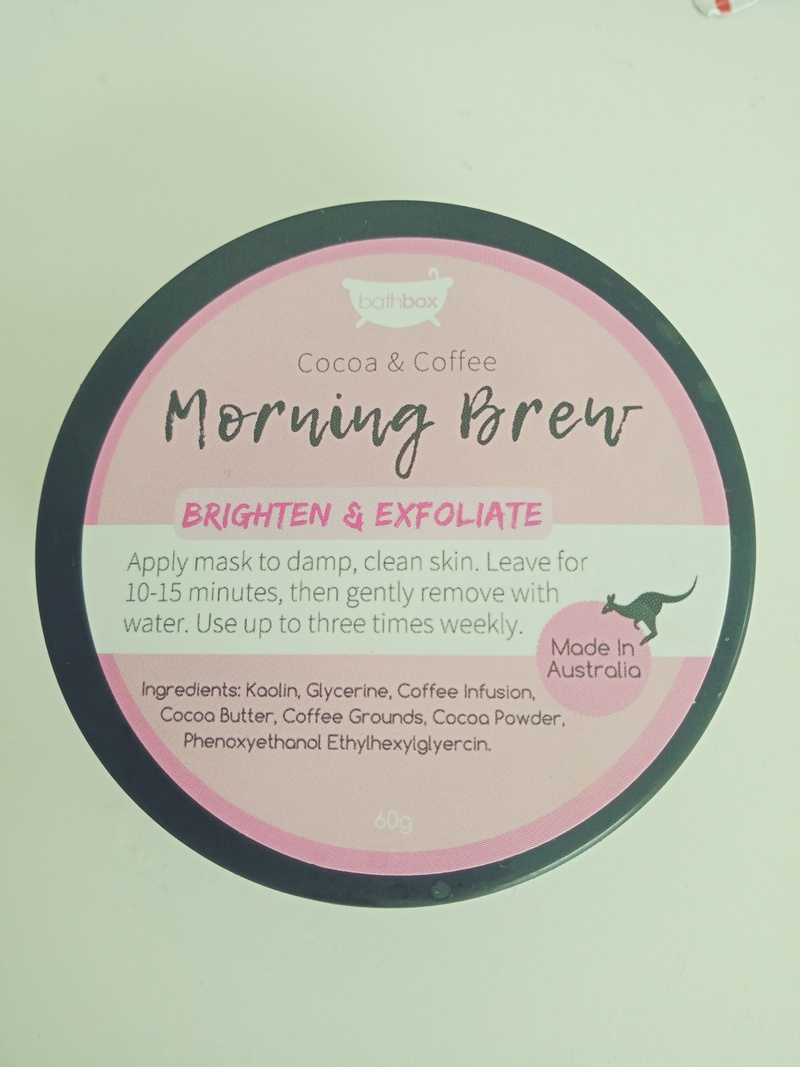 Morning Brew Face Mask