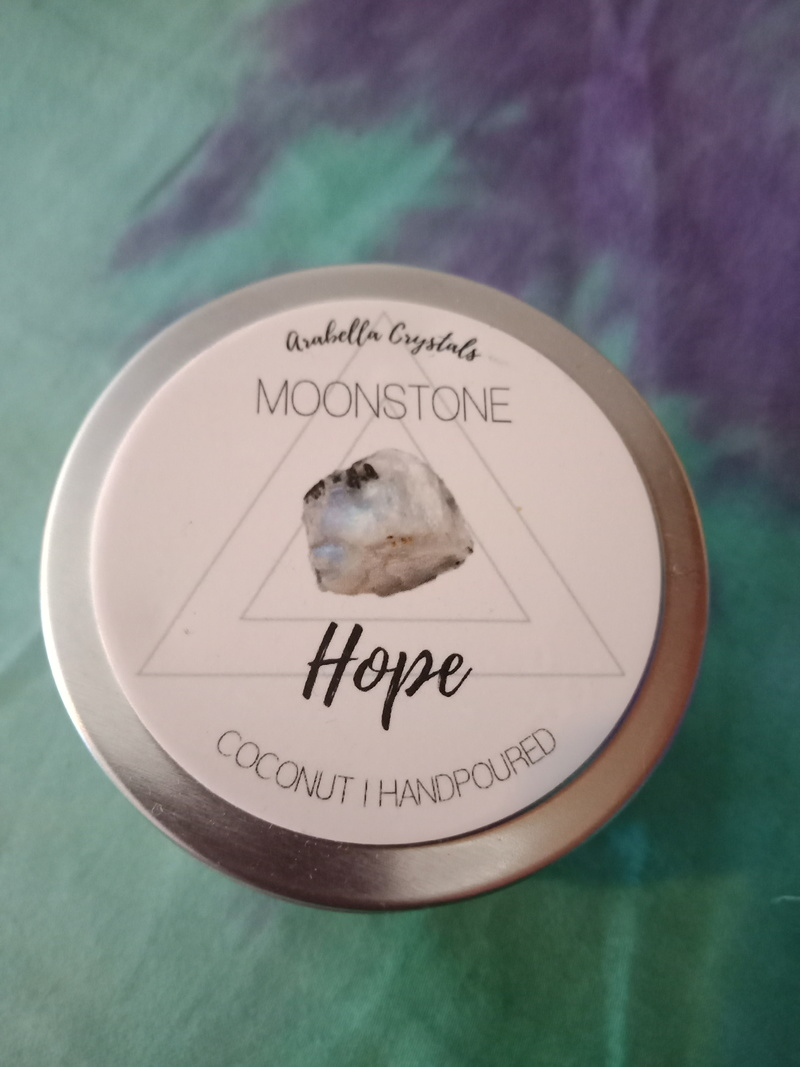 Moonstone Hope Candle