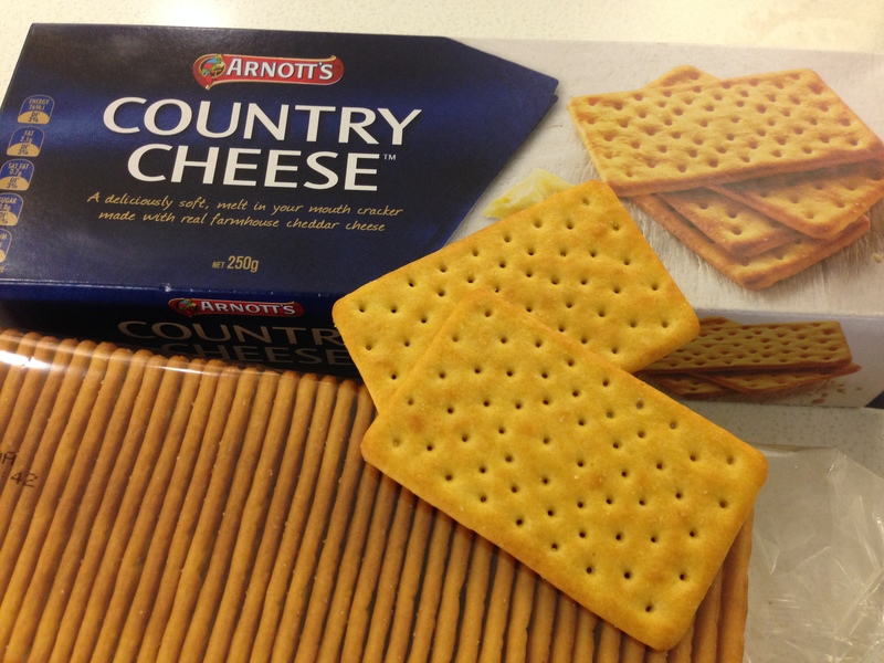 Arnott's Country Cheese Cracker