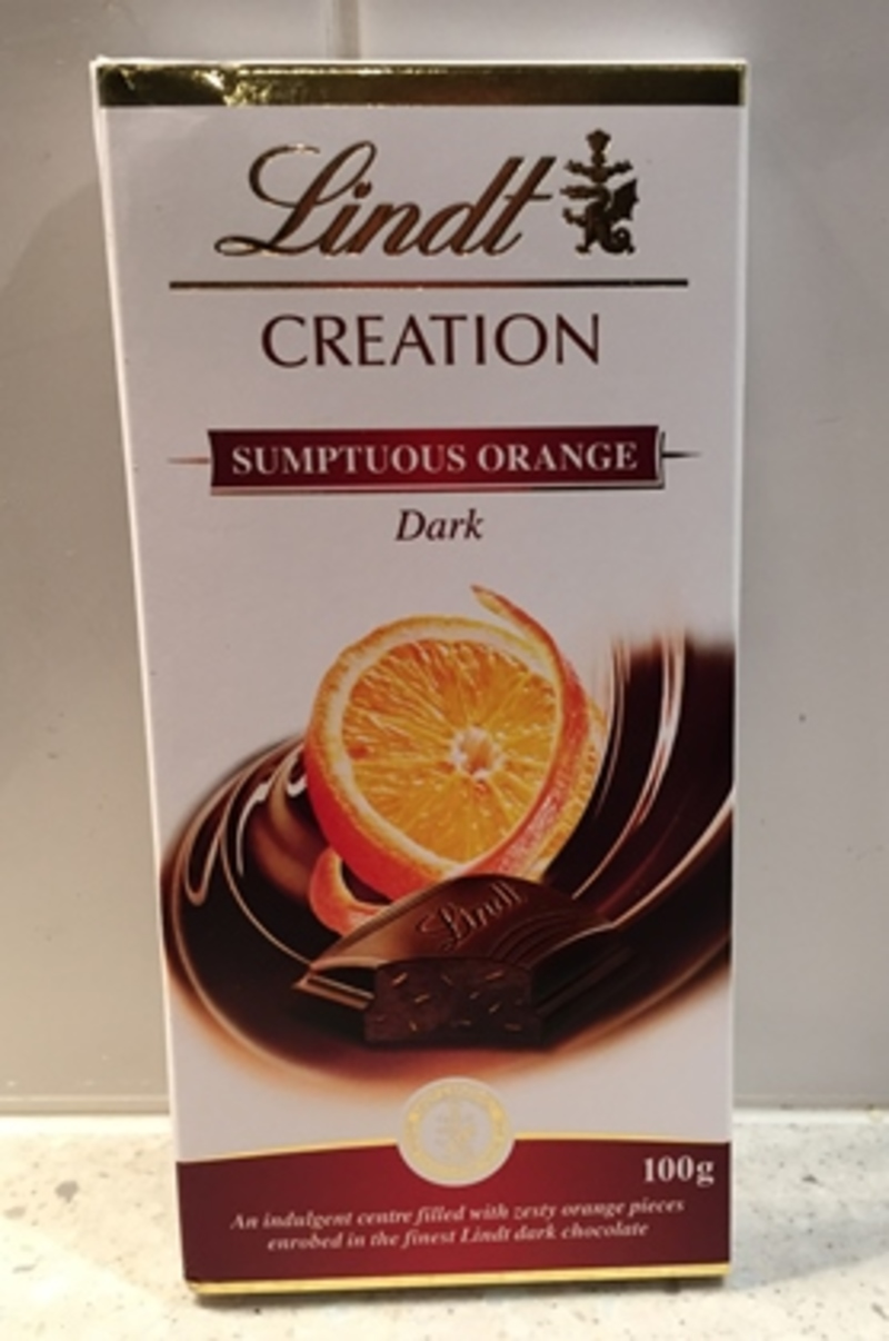 Lindt Sumptuous Orange Dark Chocolate