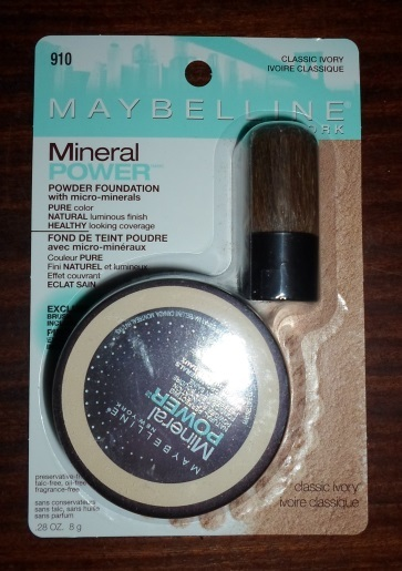 maybelline new york mineral power powder foundation