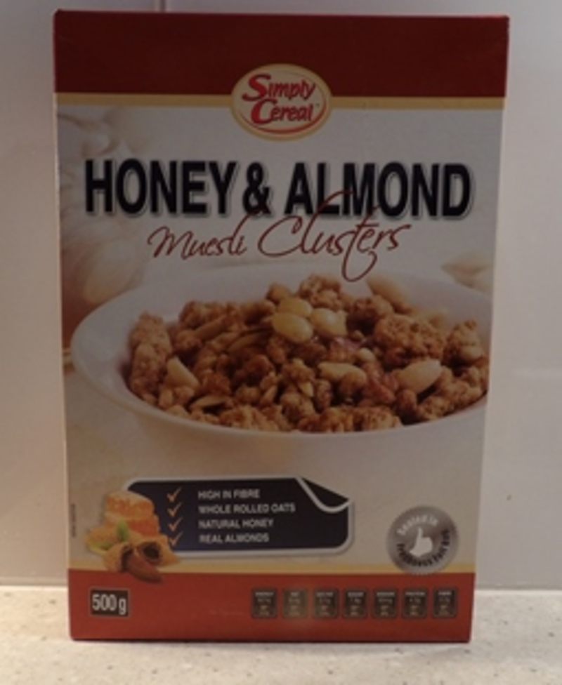 Honey And Almond Muesli Clusters By Simply Cereal Review
