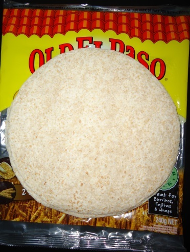 old el paso wholegrain tortilla
