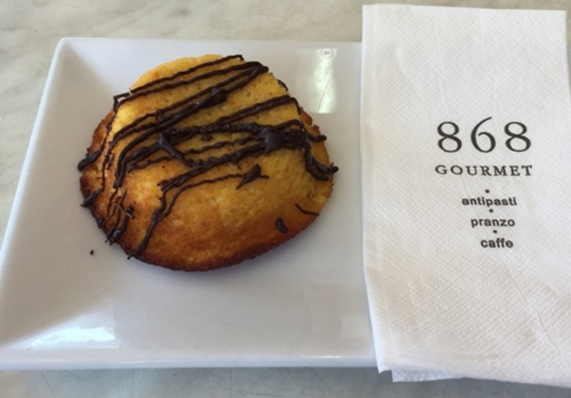 Orange and Almond Friand at 868 Gourmet Deli