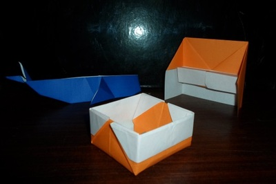 origami paper folding activity instruction book