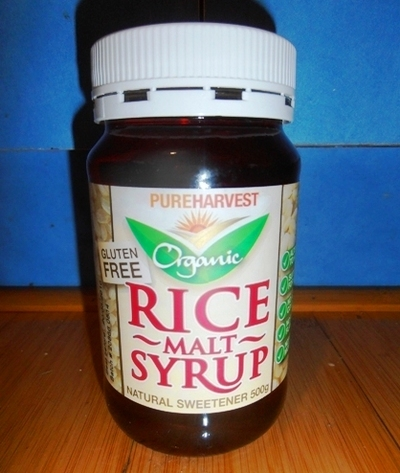 Rice Syrup Coles Organic Rice Malt Syrup is