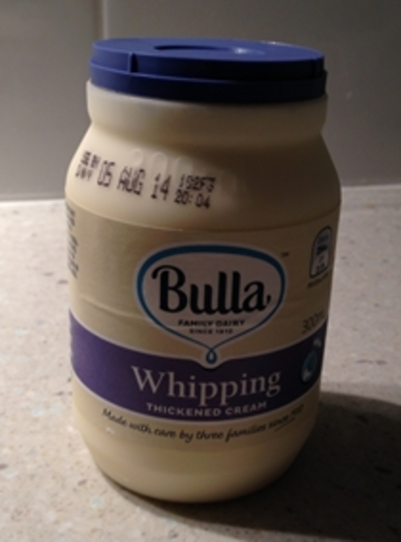 Bulla Whipping Thickened Cream