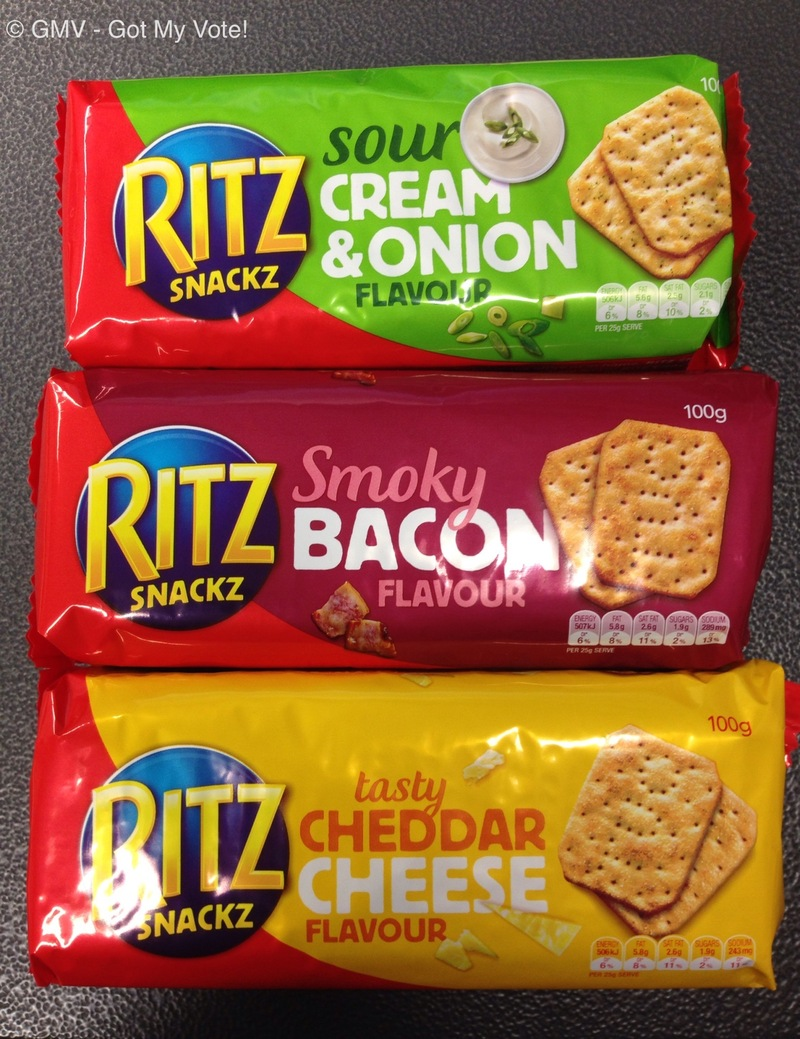 RITZ Snackz flavored crackers Review - Review Clue