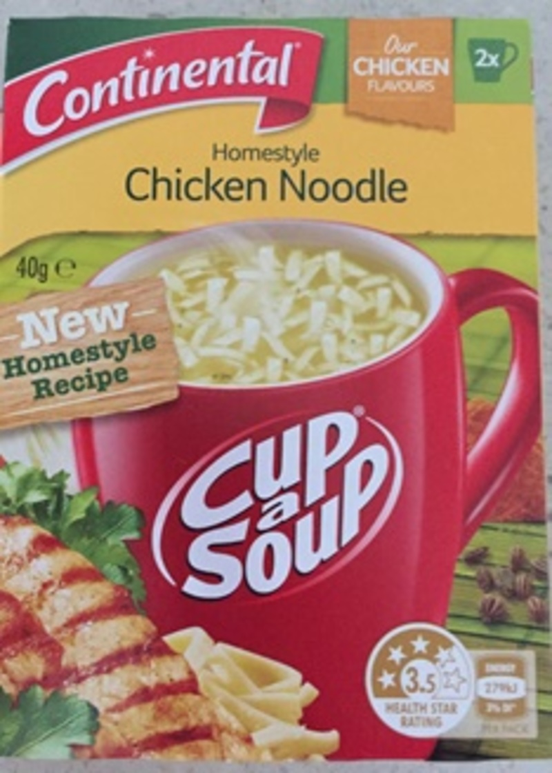 Continental Home Style Chicken Noodle Soup