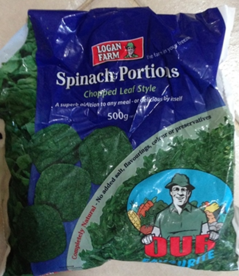Frozen Spinach Portions by Logan Farm