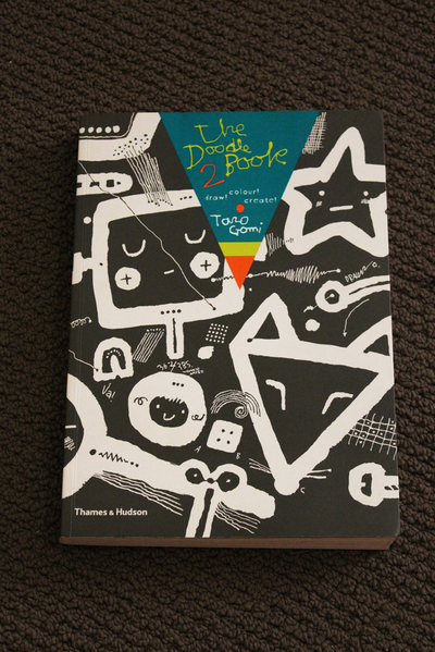 the doodle book, book review, activity books, taro gomi, drawing books, japanese books,