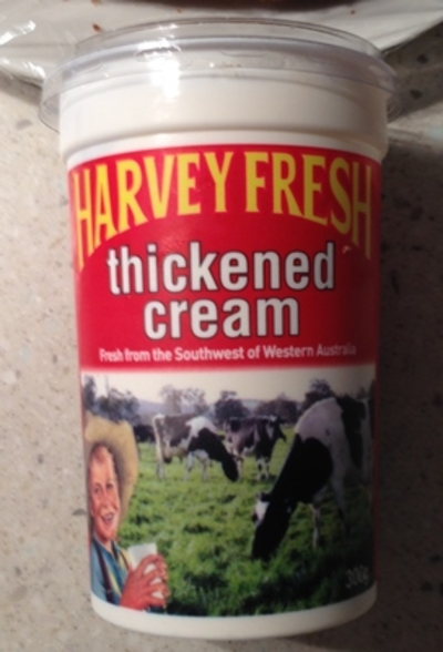 what is thickened cream in nz