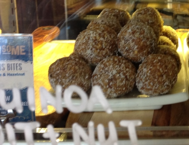 Quinoa Fruit and Nut Ball at To The Woods