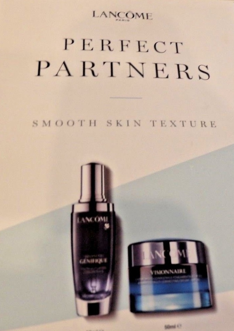 Lancome Perfect Partners For Smoothing Skin Texture