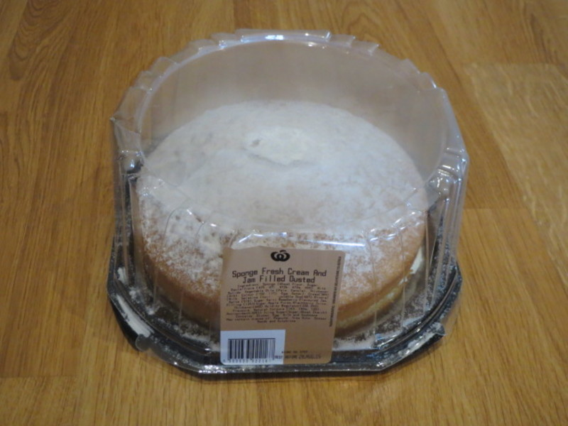 Woolworths Sponge Cake Review