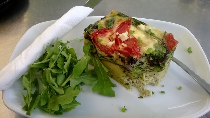 Vegetable Quiche @ Canning River Cafe